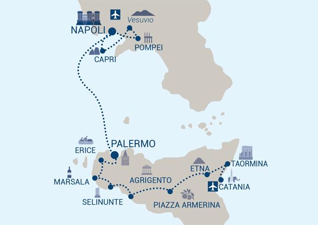 Tour Regno delle due Sicilie Image